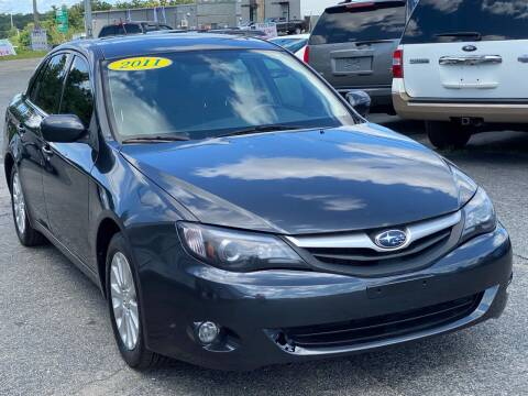 2011 Subaru Impreza for sale at MetroWest Auto Sales in Worcester MA