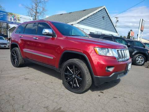 2013 Jeep Grand Cherokee for sale at Universal Auto Sales in Salem OR