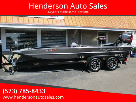 2018 Legend SS 1960 V Bass for sale at Henderson Auto Sales in Poplar Bluff MO