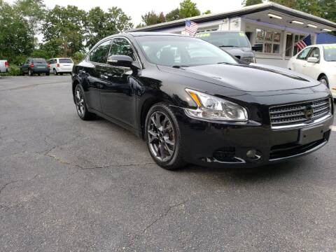 2012 Nissan Maxima for sale at Highlands Auto Gallery in Braintree MA