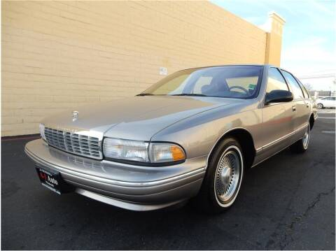 1996 Chevrolet Caprice for sale at A-1 Auto Wholesale in Sacramento CA