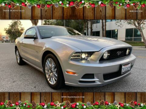 2014 Ford Mustang for sale at Trade In Auto Sales in Van Nuys CA