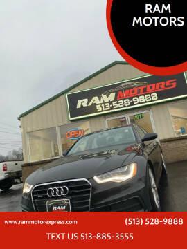 2012 Audi A6 for sale at RAM MOTORS in Cincinnati OH