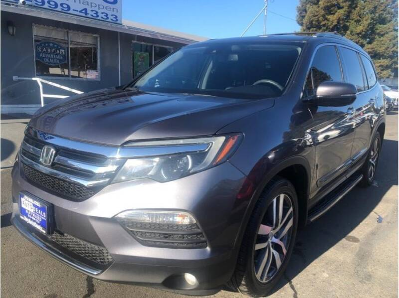 2016 Honda Pilot for sale at AutoDeals in Daly City CA