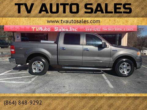 2008 Ford F-150 for sale at TV Auto Sales in Greer SC