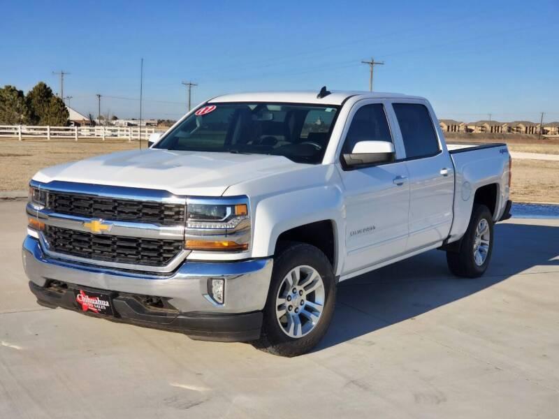 2017 Chevrolet Silverado 1500 for sale at Chihuahua Auto Sales in Perryton TX