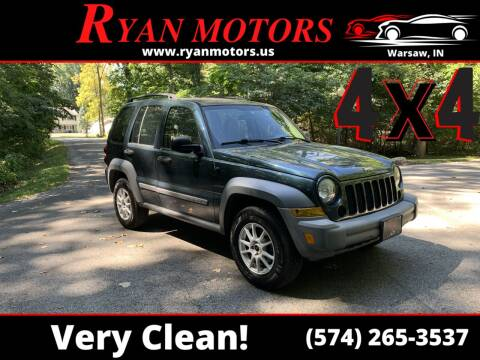 2006 Jeep Liberty for sale at Ryan Motors LLC in Warsaw IN