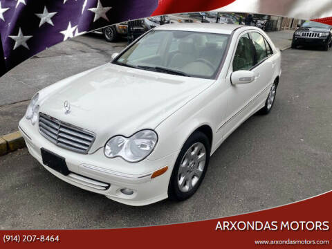 2006 Mercedes-Benz C-Class for sale at ARXONDAS MOTORS in Yonkers NY