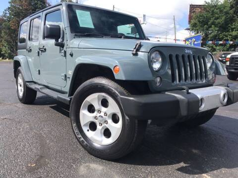2015 Jeep Wrangler Unlimited for sale at Certified Auto Exchange in Keyport NJ