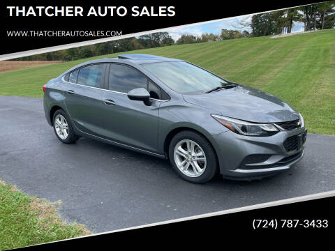 2018 Chevrolet Cruze for sale at THATCHER AUTO SALES in Export PA