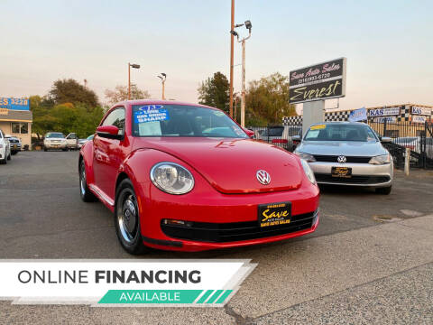 2013 Volkswagen Beetle for sale at Save Auto Sales in Sacramento CA