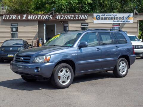 2004 Toyota Highlander for sale at Ultra 1 Motors in Pittsburgh PA