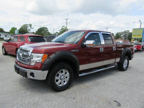 2014 Ford F-150 for sale at ARENA AUTO SALES,  INC. in Holly Hill FL