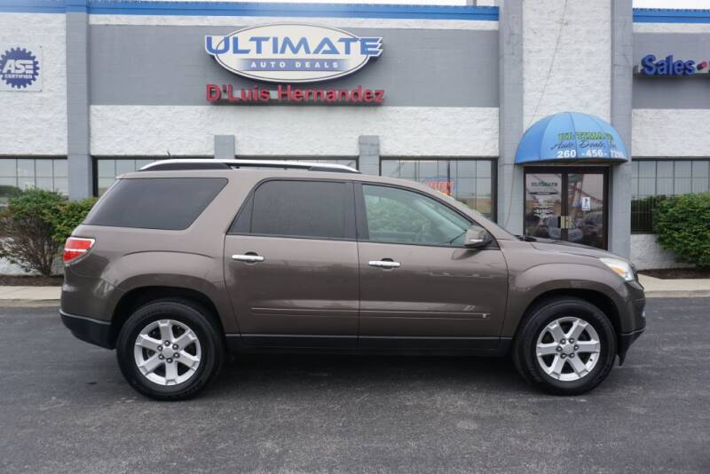 2009 Saturn Outlook for sale at Ultimate Auto Deals DBA Hernandez Auto Connection in Fort Wayne IN