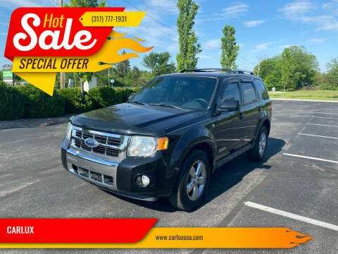 2008 Ford Escape for sale at CARLUX in Fortville IN