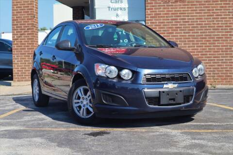 2015 Chevrolet Sonic for sale at Hobart Auto Sales in Hobart IN