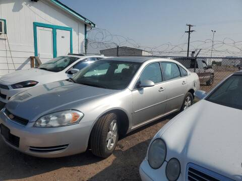 2006 Chevrolet Impala for sale at PYRAMID MOTORS - Fountain Lot in Fountain CO