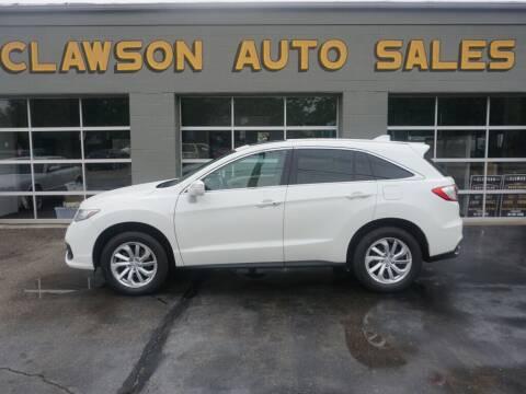 2016 Acura RDX for sale at Clawson Auto Sales in Clawson MI