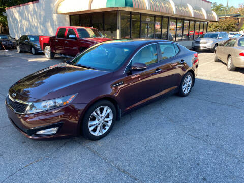 2012 Kia Optima for sale at J Franklin Auto Sales in Macon GA