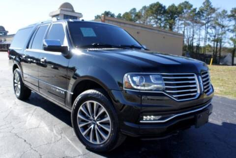 2016 Lincoln Navigator L for sale at CU Carfinders in Norcross GA
