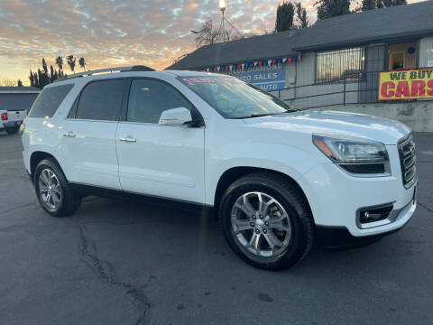 2016 GMC Acadia for sale at Blue Diamond Auto Sales in Ceres CA