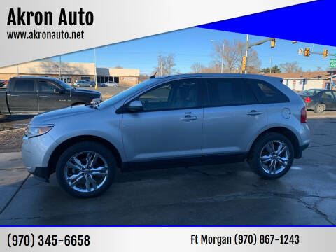 2012 Ford Edge for sale at Akron Auto in Akron CO