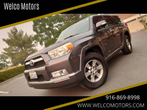 2011 Toyota 4Runner for sale at Welco Motors in Rancho Cordova CA