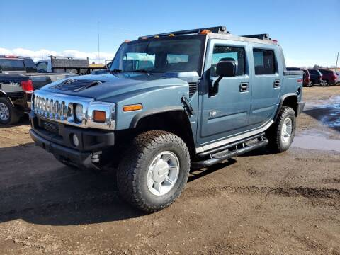 2005 HUMMER H2 SUT for sale at HORSEPOWER AUTO BROKERS in Fort Collins CO