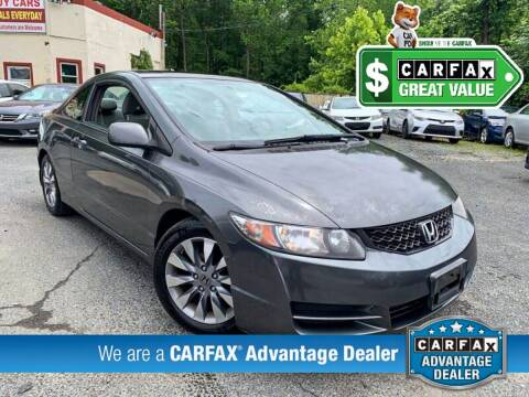 2009 Honda Civic for sale at High Rated Auto Company in Abingdon MD