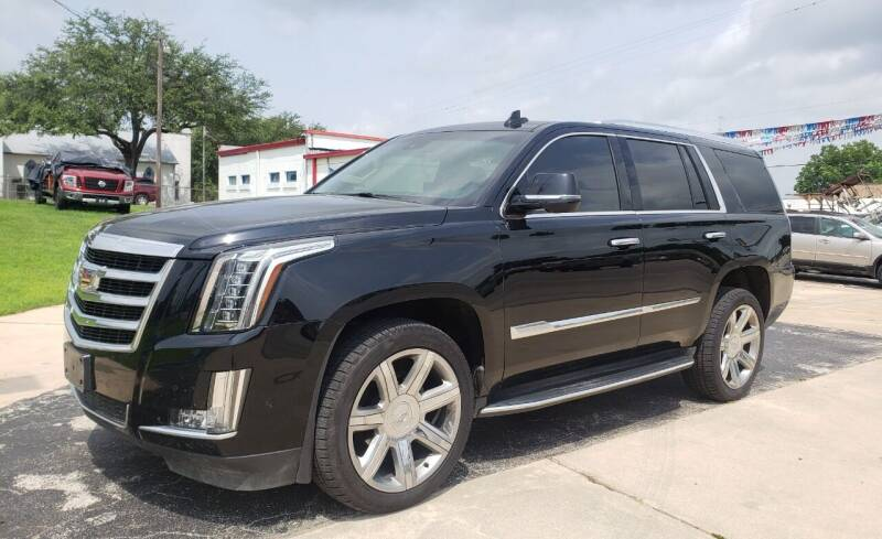 2017 Cadillac Escalade for sale at Rons Auto Sales in Stockdale TX