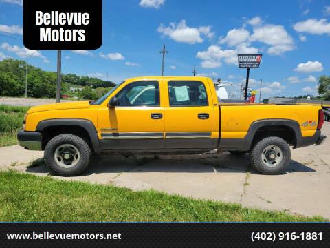2005 Chevrolet Silverado 2500HD for sale at Bellevue Motors in Bellevue NE