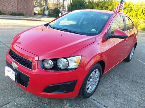 2013 Chevrolet Sonic for sale at Hilton Motors Inc. in Newport News VA