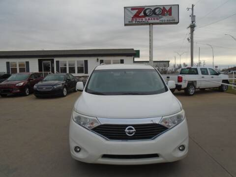 2013 Nissan Quest for sale at Zoom Auto Sales in Oklahoma City OK