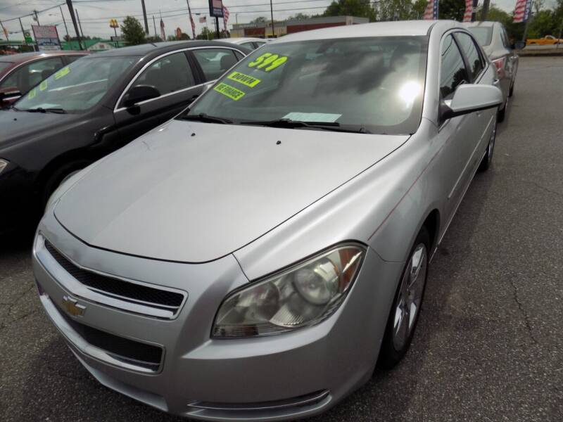 2010 Chevrolet Malibu for sale at Pro-Motion Motor Co in Lincolnton NC