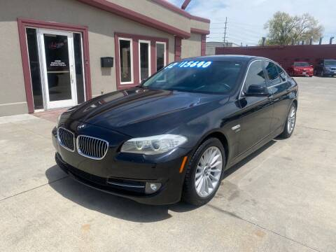 2012 BMW 5 Series for sale at Sexton's Car Collection Inc in Idaho Falls ID