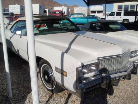 1976 Cadillac Eldorado for sale at Collector Car Channel - Desert Gardens Mobile Homes in Quartzsite AZ