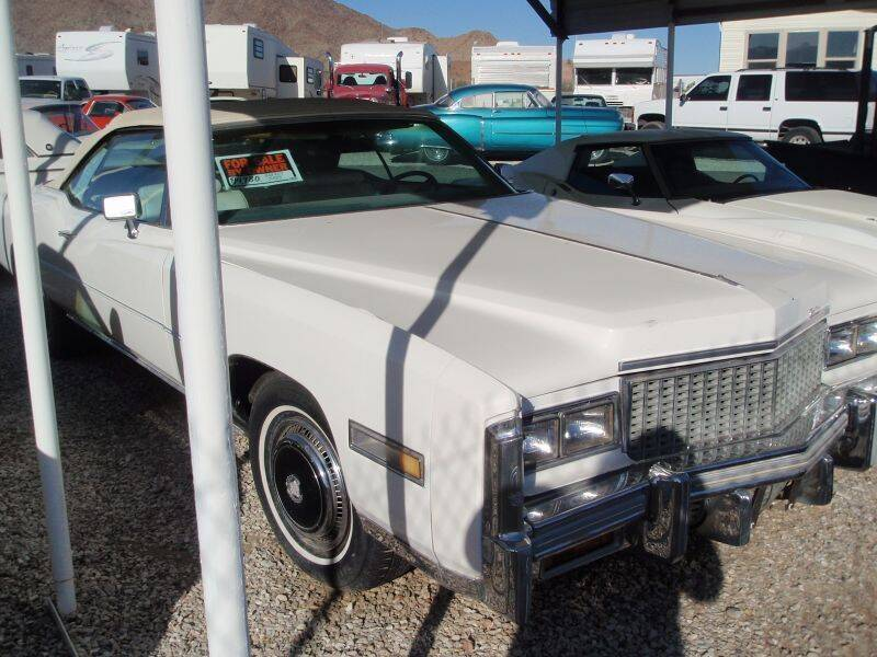 1976 Cadillac Eldorado for sale at Collector Car Channel - Desert Gardens Mobile Homes in Quartzsite AZ