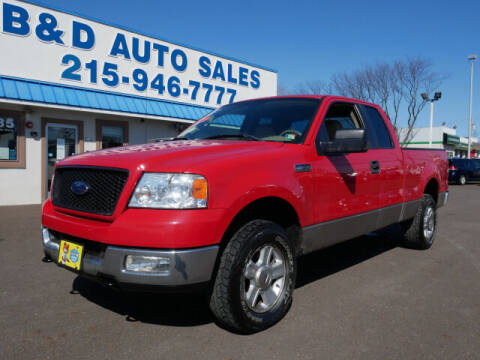 2005 Ford F-150 for sale at B & D Auto Sales Inc. in Fairless Hills PA