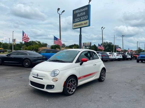 2012 FIAT 500 for sale at Michaels Autos in Orlando FL