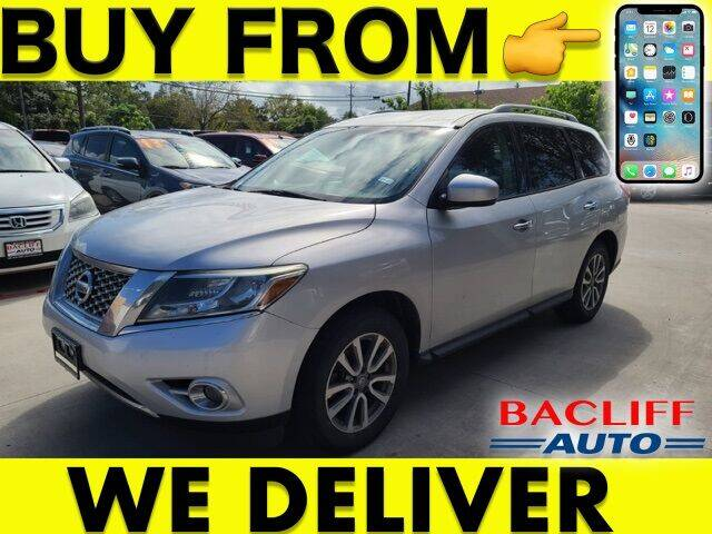 2015 Nissan Pathfinder for sale at Bacliff Auto in Bacliff TX