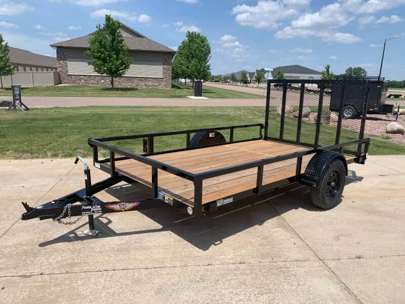 2021 H&H Rail Side 82x12 #9729 for sale at Prairie Wind Trailers, LLC in Harrisburg SD