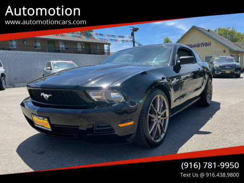 2010 Ford Mustang for sale at Automotion in Roseville CA