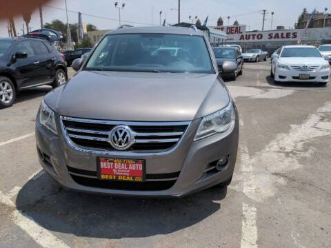 2009 Volkswagen Tiguan for sale at Best Deal Auto Sales in Stockton CA