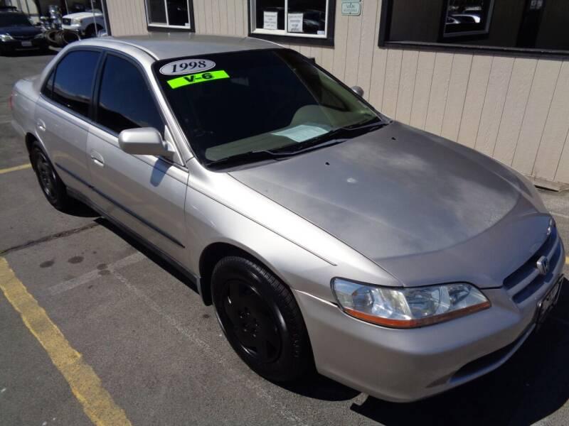 1998 Honda Accord for sale at BBL Auto Sales in Yakima WA