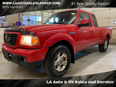 2008 Ford Ranger for sale at LA Auto & RV Sales and Service in Lapeer MI