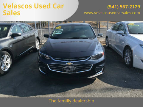 2016 Chevrolet Malibu for sale at Velascos Used Car Sales in Hermiston OR