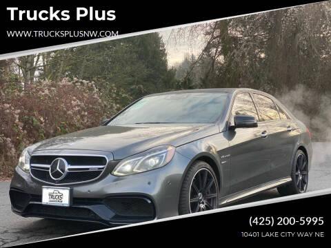 2015 Mercedes-Benz E-Class for sale at Trucks Plus in Seattle WA