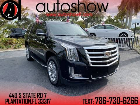 2017 Cadillac Escalade for sale at AUTOSHOW SALES & SERVICE in Plantation FL