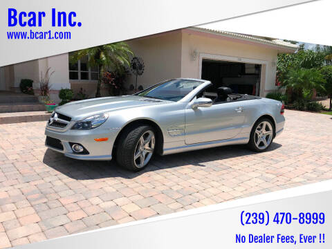 2009 Mercedes-Benz SL-Class for sale at Bcar Inc. in Fort Myers FL