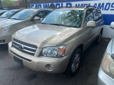 2006 Toyota Highlander Hybrid for sale at Car World Inc in Arlington VA